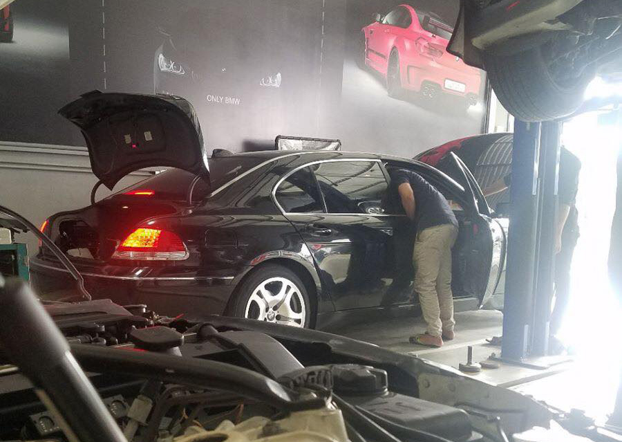Dịch vụ bảo dưỡng hệ thống lạnh cho ô tô hiện đại tại Only BMW bao gồm: